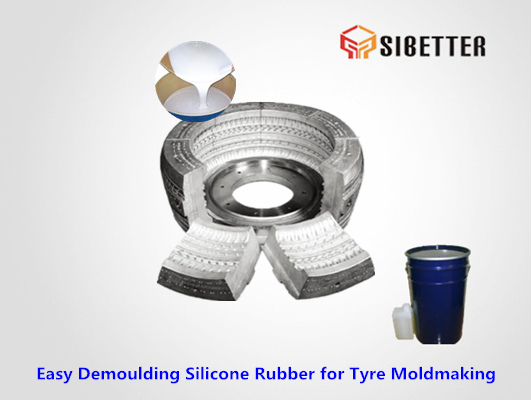 easy demoulding silicone rubber for tyre moldmaking