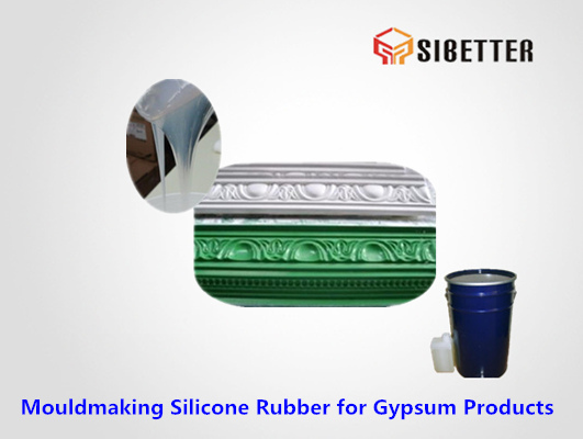 liquid tin cure silicone for gypsum moldmaking