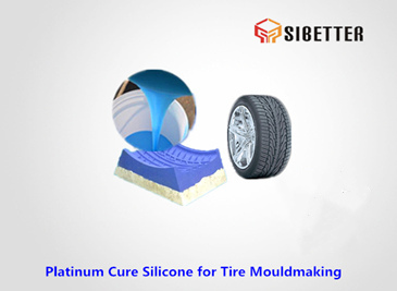 products easy demoulding silicone-rubber for tyre moldmaking