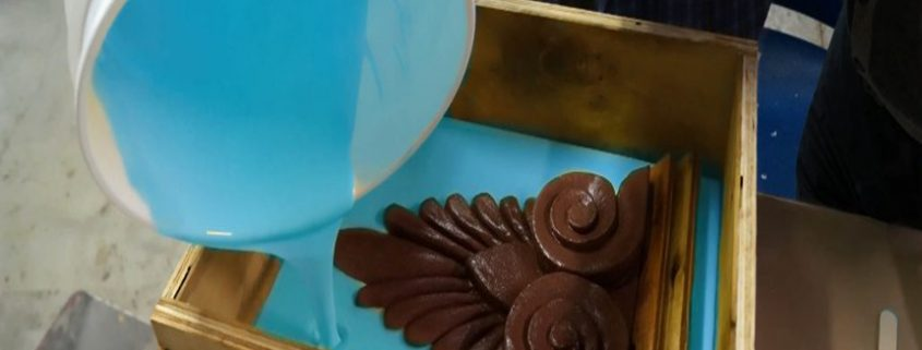 how to make moulds by pouring way