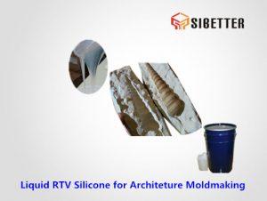 liquid rtv tin cure silicone for architeture moldmaking
