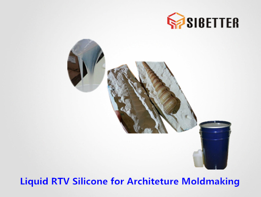 liquid rtv tin cure silicone for architeture moldmaking