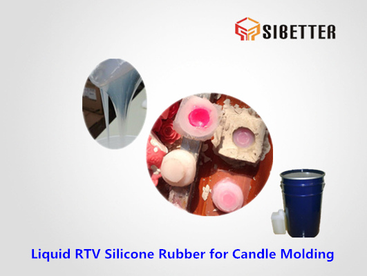 liquid tin cure silicone for candle moldmaking