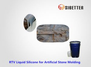 rtv liquid tin cure silicone for stone moulding