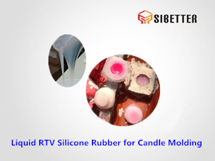 rtv tin cure silicone for candle moldmaking