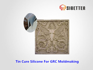 liquid condensation cure silicone for grfc moldmaking