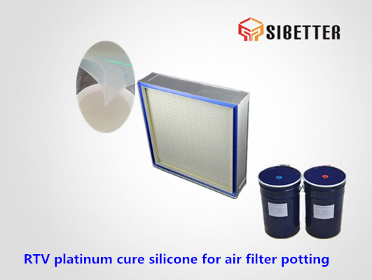 tin cure electronic potting silicone